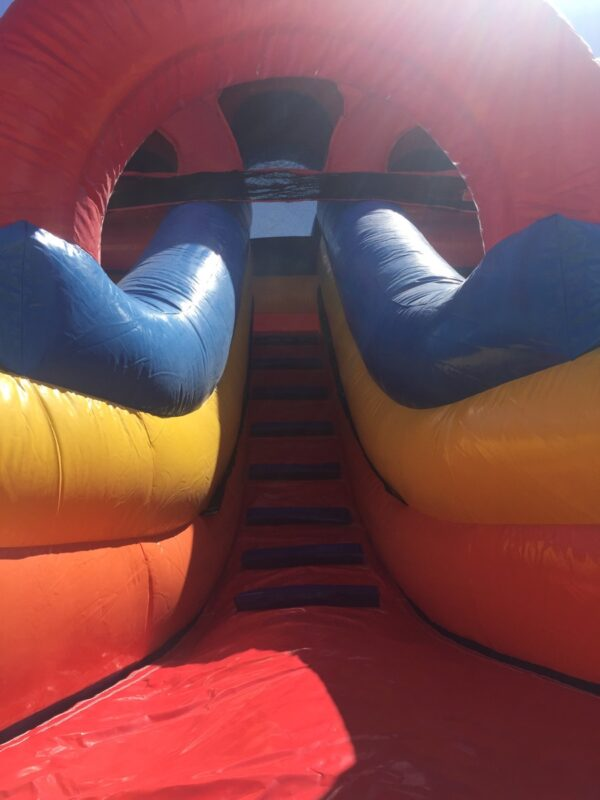 Double Super Slide - Sliding Area