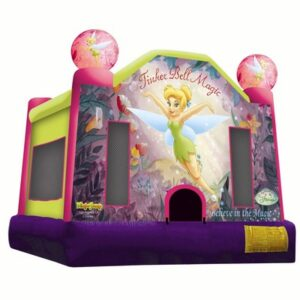 Tinker Bell Magic Jumping Castle Hire