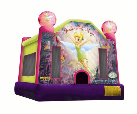 Tinker-Bell-Magic-Jumping-Castle-Hire