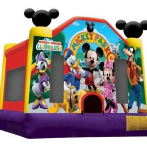 Mickey Park - Bouncy Castle Hire