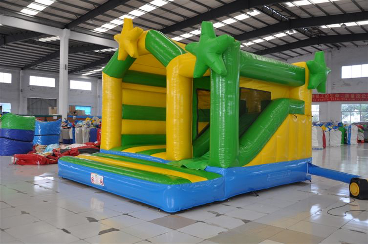 Aussie Star front view - Perth Bouncy Castle Hire