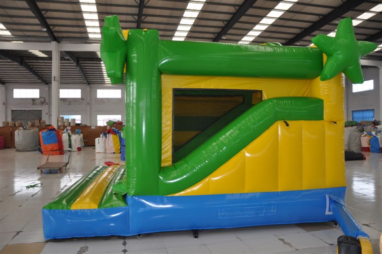 Aussie Star Side View - Bouncy Castle Hire
