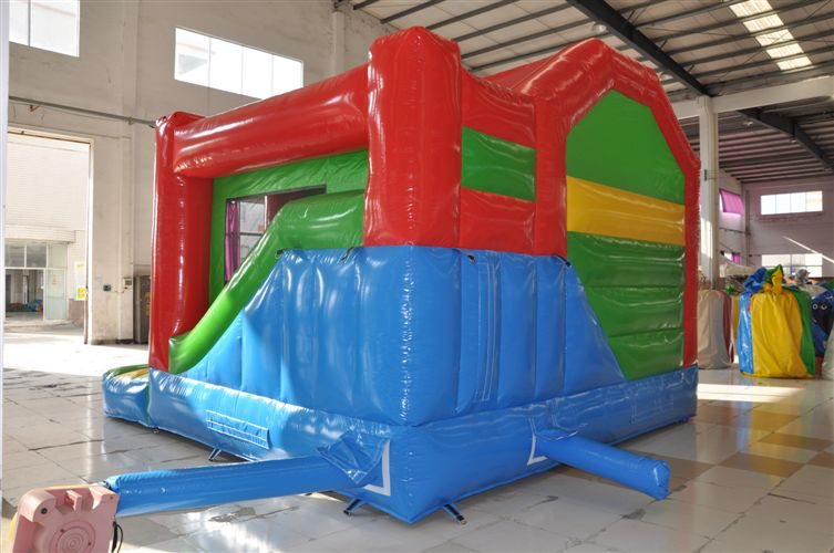 Big Red back view - Perth Jumping Castle Hire