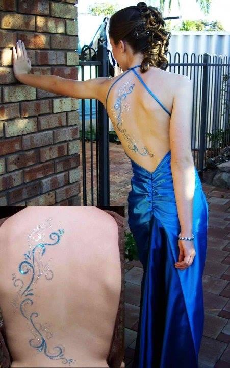 Glitter Tattoos Perth Australia Service