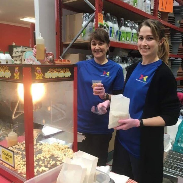 Pop Corn Machine Hire with Operator at Bunnings