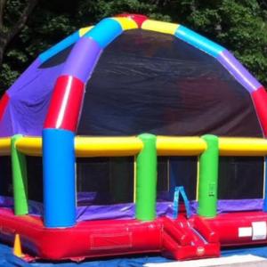 Mega-Dome-Bouncy-Castle-Hire